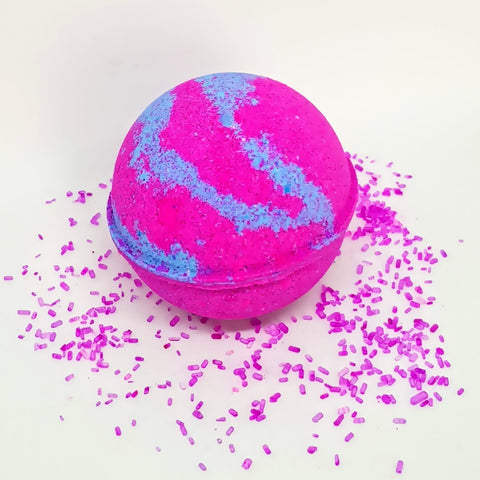 Raspberry Zinger Bath Bomb Ball