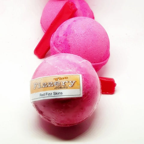 Image of Red Fizz Skins Bath Bomb Ball