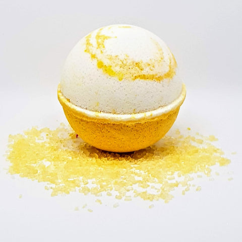 Honey And Coconut Milk Bath Bomb Ball