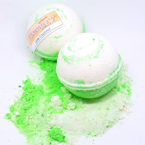 Coconut Lime Bath Bomb Ball