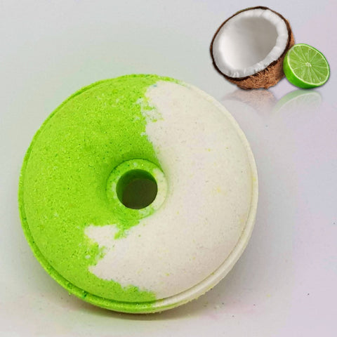 Image of Coconut Lime Bath Bomb Donut