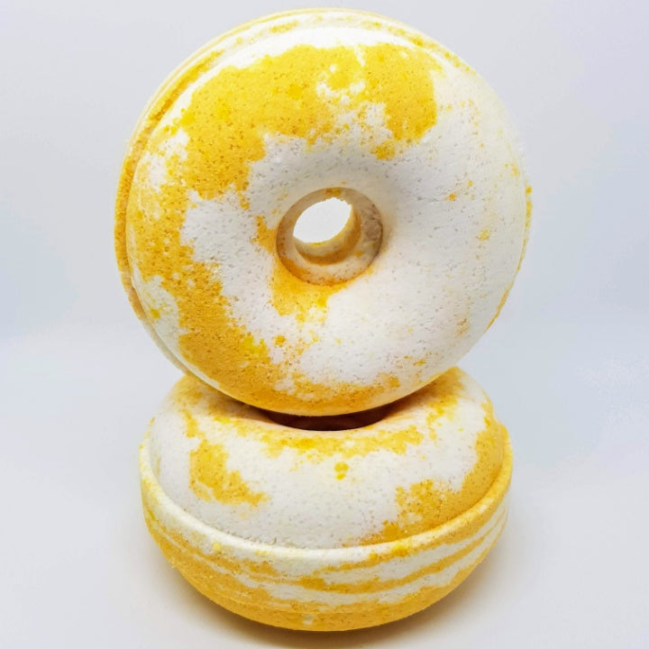 Honey And Coconut Milk Bath Bomb Donut