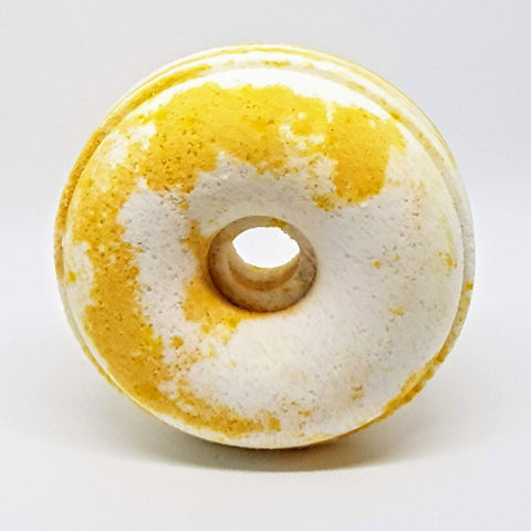 Image of Honey And Coconut Milk Bath Bomb Donut
