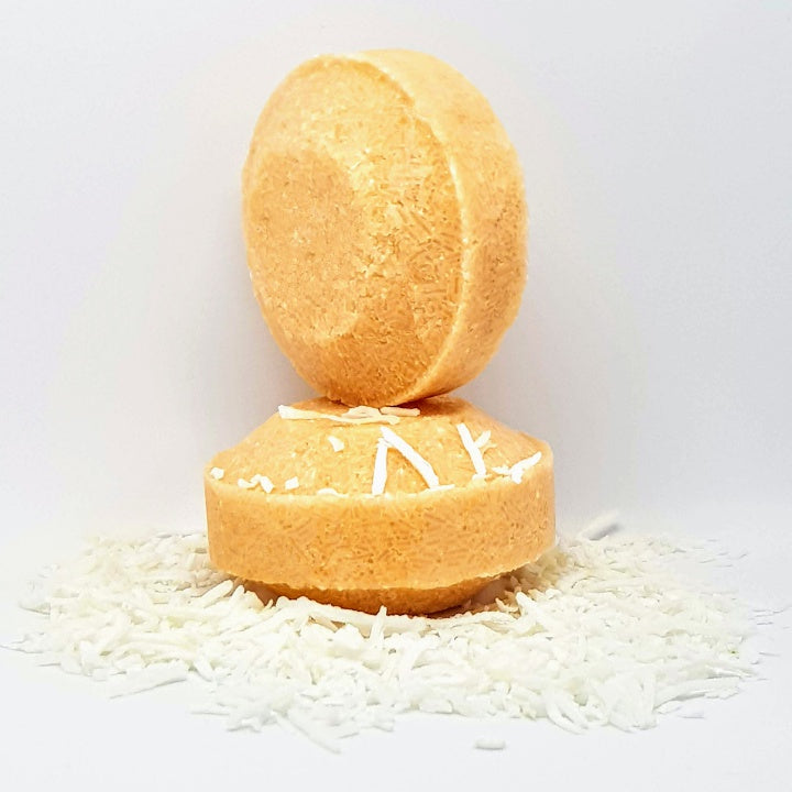 Shampoo Bar Coconut and Mandarine