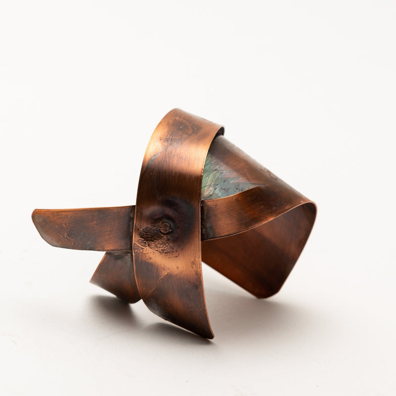 unique copper cuff
