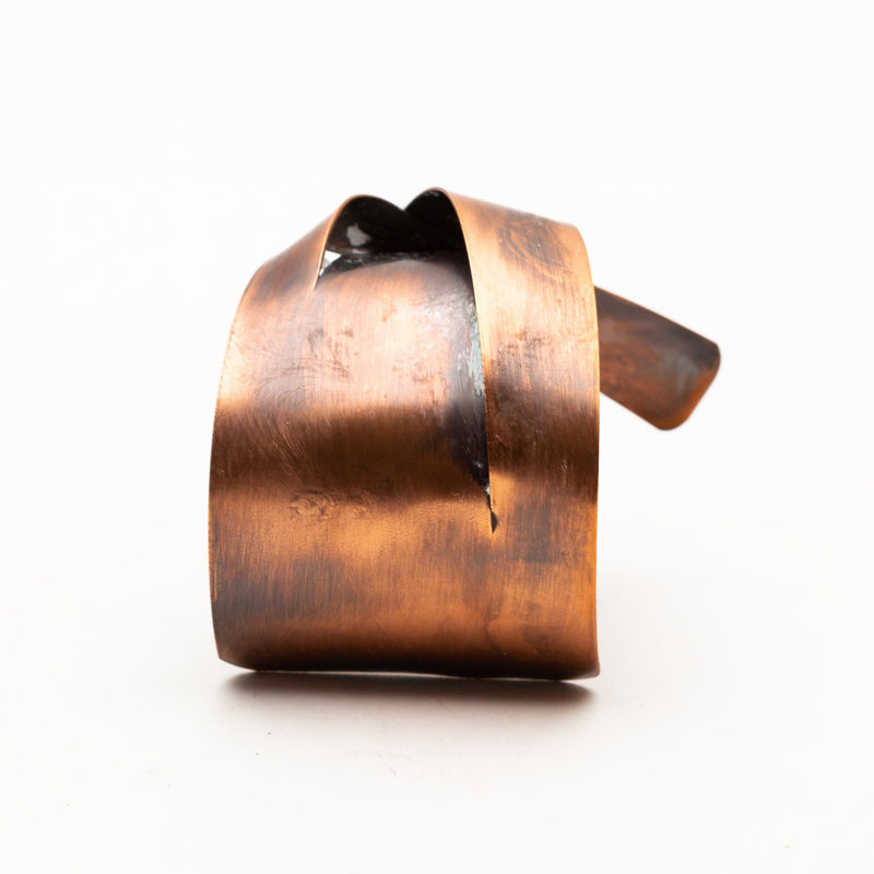 interesting copper cuff