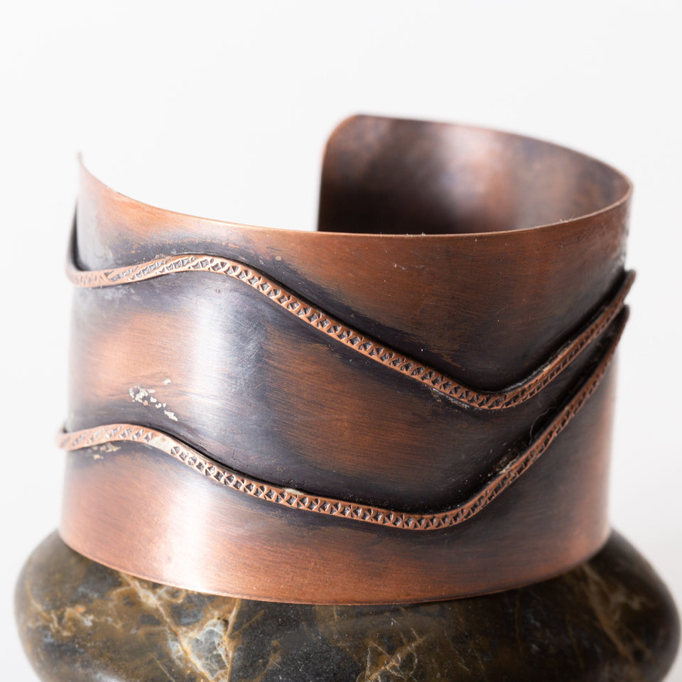 Classic 6-Inch Copper Cuff | Tinklet Jewelry