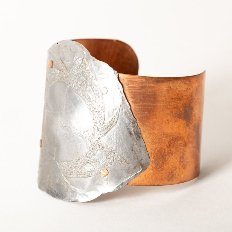 metal copper cuff