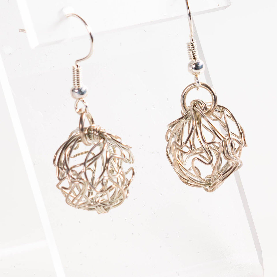 Light and Airy Dainty Silver Earrings | Tinklet Jewelry Earring Tinklet