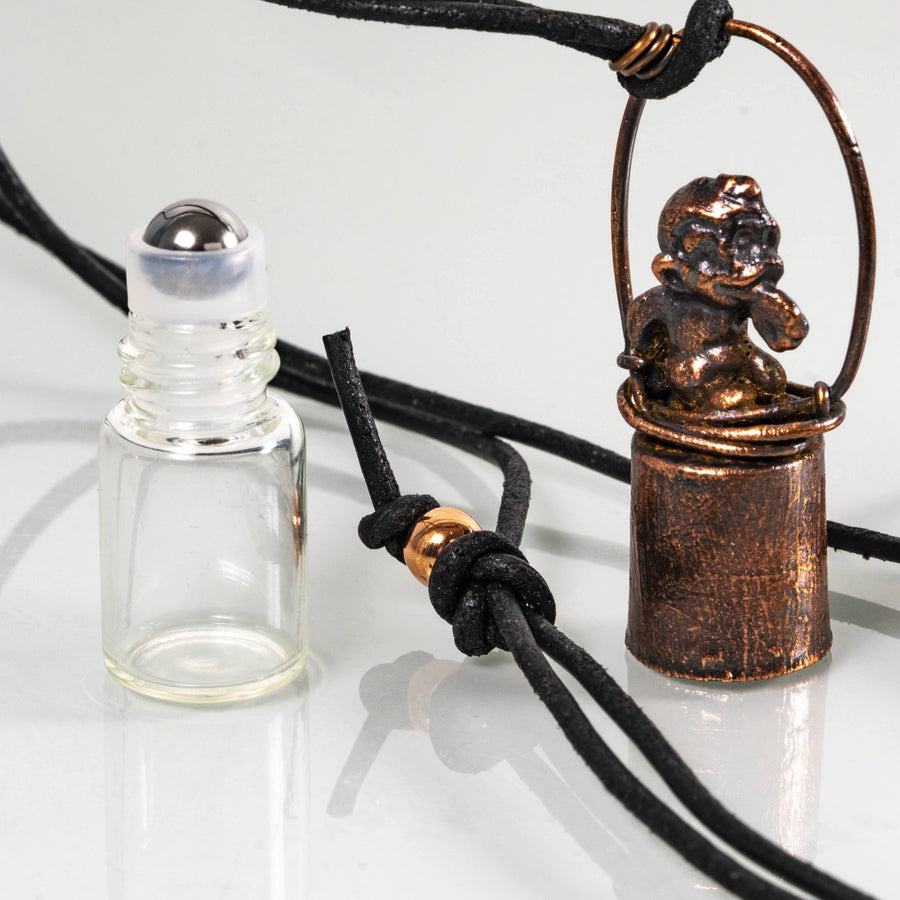 Copper Roller Bottles Essential Oil Diffuser | Tinklet Jewelry necklace/pendant Tinklet Jewelry Monkey
