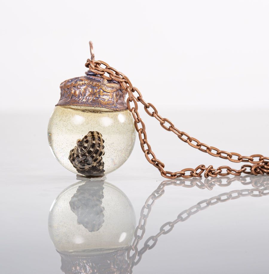 Botanical Glass Orb Terrarium Pendant Necklace | Tinklet Jewelry necklace/pendant Tinklet Jewelry