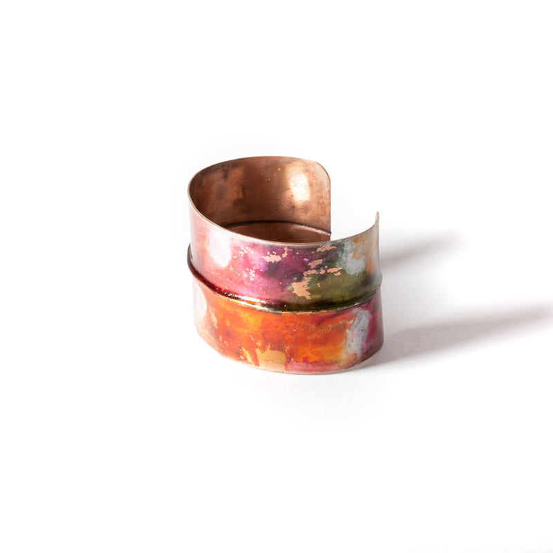 Bracelet - adjustable copper cuff bracelet