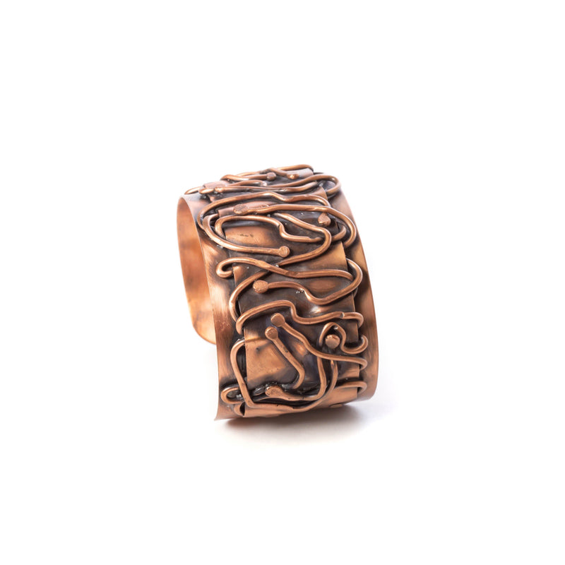 city style copper cuff