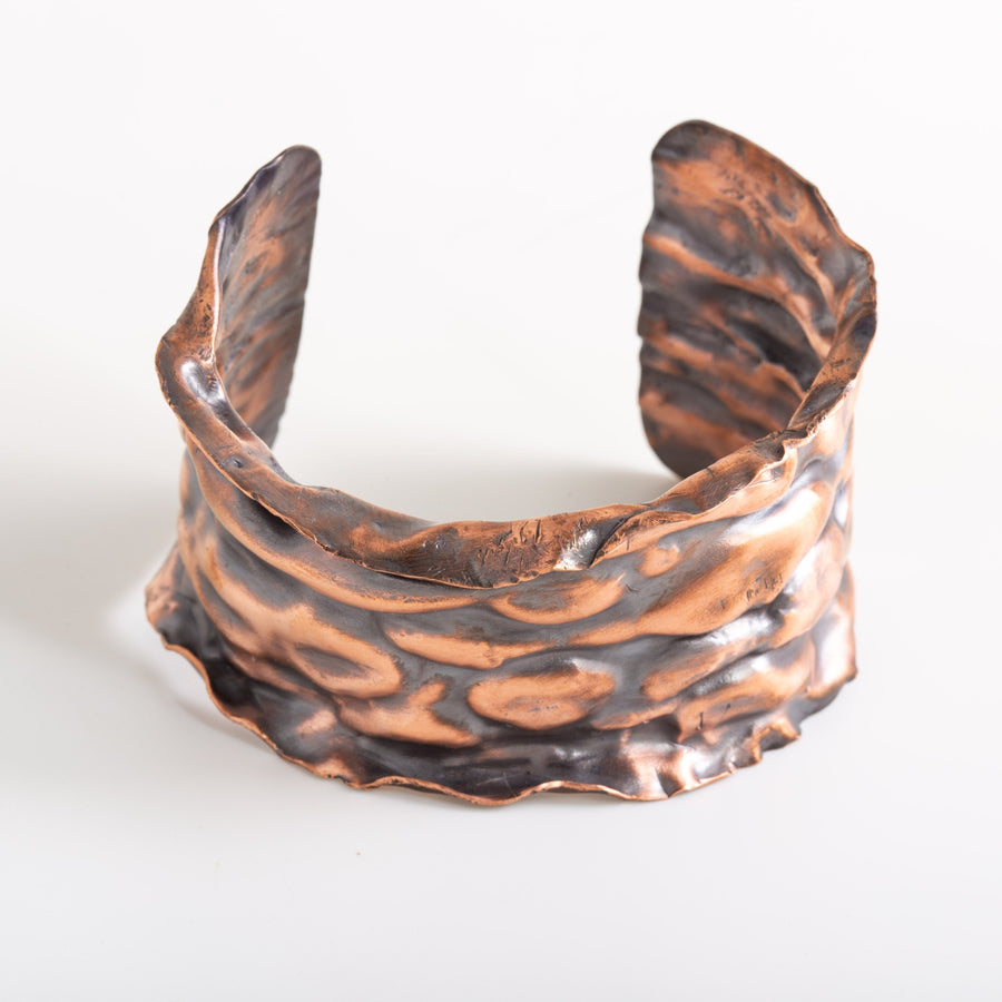 Air Chased Copper Cuff – Bracelet | Tinklet Jewelry Bracelet Tinklet