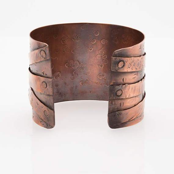 Ethnic Style Copper Statement Cuff | Tinklet Jewelry