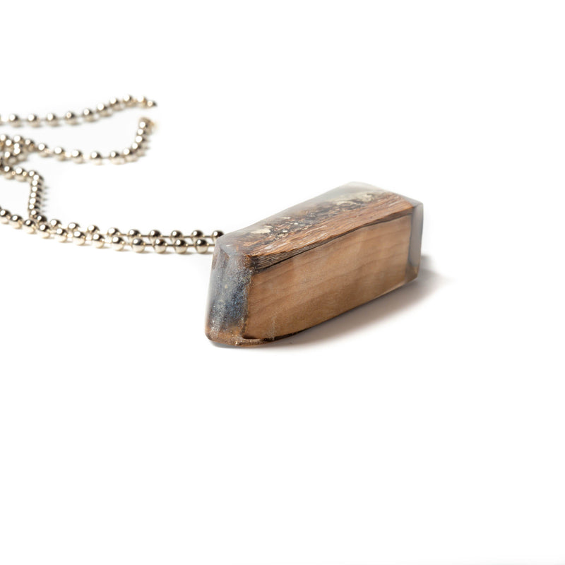Necklace/pendant - Mystic Wood And Resin Pendant | Necklaces | Tinklet Jewelry