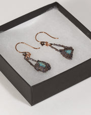 Turquoise Stone Earring | Tinklet Jewelry Earring Tinklet