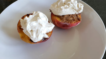 Peaches-n-Cream with Cinnamon Almond