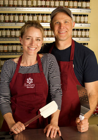 Mike and Janet from Savory Spice Shop based in Denver, Colorado.