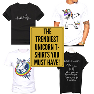 5 of the Trendiest Unicorn T-Shirts you MUST have!