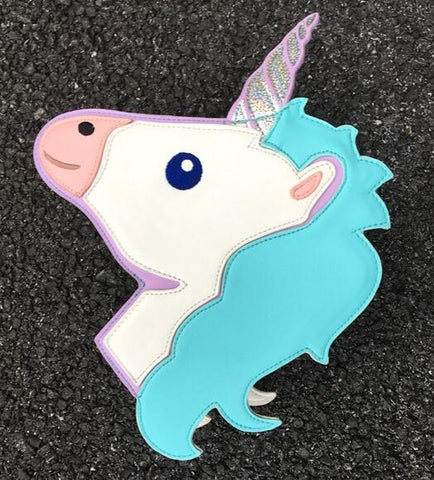 Unicorn Head - Messenger Bag for Women