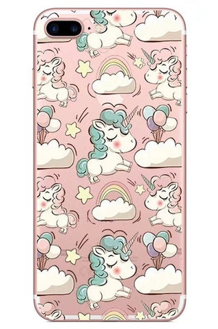 Cartoon Unicorn iPhone case