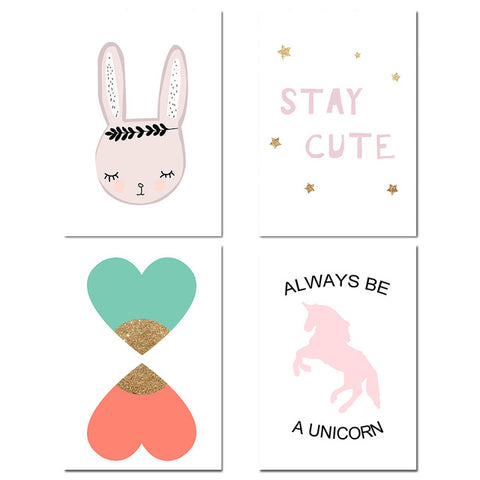Collection Unicorn Canvas Poster