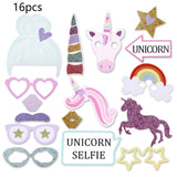 Unicorn Party Decorations - Photo Booth Props