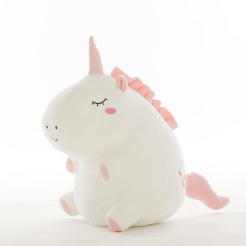 Cute unicorn plush toy - accompany sleep teddy for kids