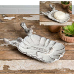 White Wren Soap Dish- Set of 2