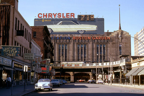 The old Boston Garden