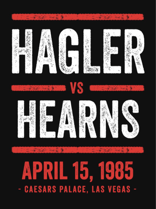 Hagler x Hearns Shirt Black