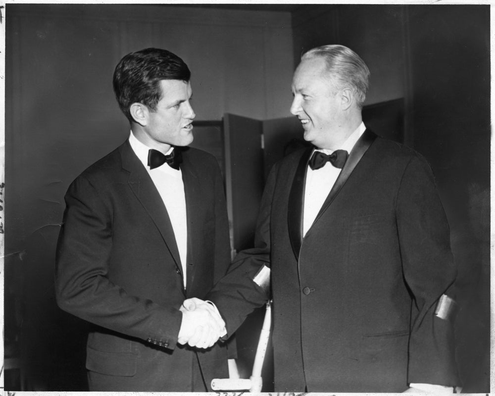 Ted Kennedy x Mayor Collins 1960's