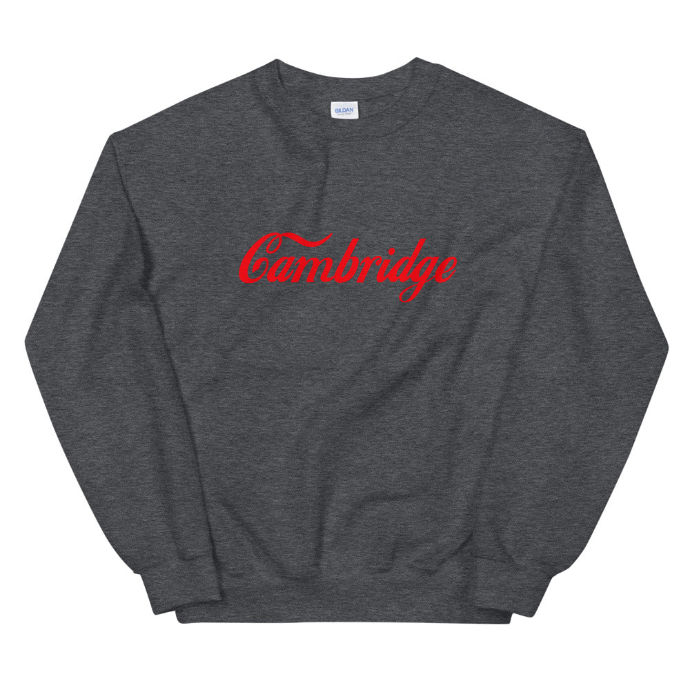 Cambridge Script Sweatshirt