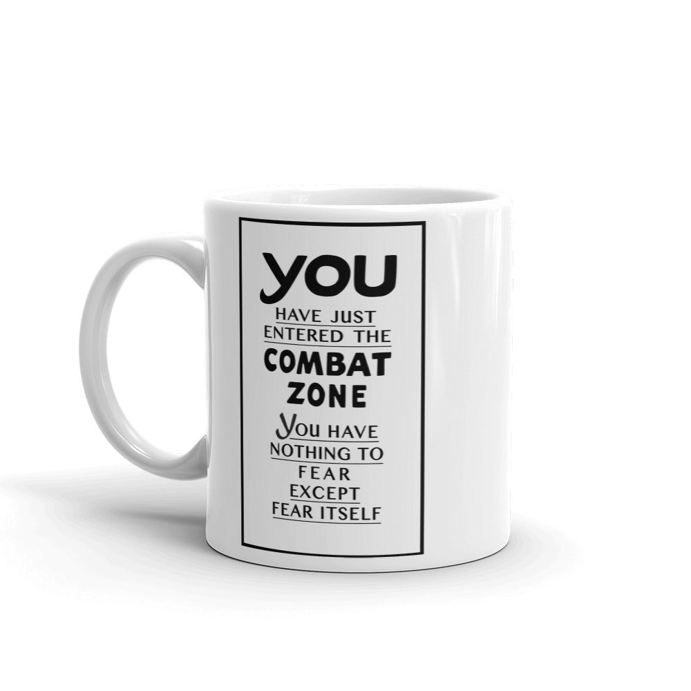 Enter the Combat Zone Mug