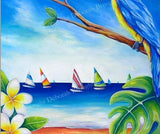 Paradise Found - Oil Painting