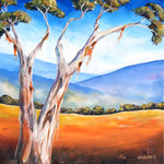 Ghost Gum - Oil on Canvas SOLD