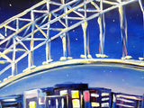 Sydney Lights - Oil Painting