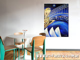 Sydney Lights - Oil Painting SOLD