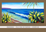 Pandanas - Oil Painting - SOLD
