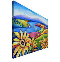 Sunflowers - Oil Painting - SOLD