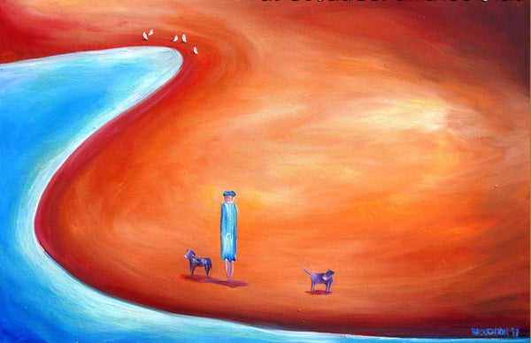 Dog's Life - Oil Painting - SOLD