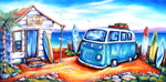 Surfside Cafe - Oil Painting - SOLD