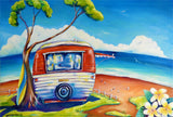 Summer Holiday - Oil Painting