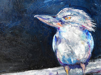 Moonlit Kookaburra  - Original Painting SOLD
