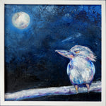 Moonlit Kookaburra  - Original Painting