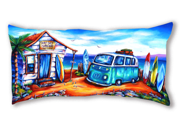 Cushion Cover (Panoramic) Surf Cafe