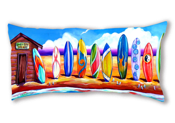 Cushion Cover (Panoramic) Sandy Bay Surf Hire