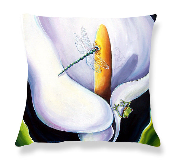 Cushion Cover: Arum Frog
