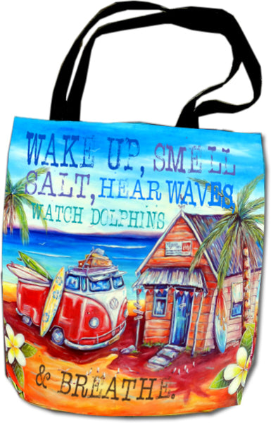 Beach Bag - Watch Dolphins